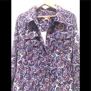 💜 3 for $15. Purple jacket